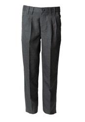 Pantalón Hombre Gris Clásico Con Dupont