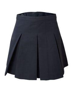 Falda Plizada 6 Tablas Azul Mujer
