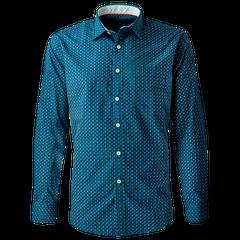 Camisa Estampada Slim Fit (Diseño Clasico)