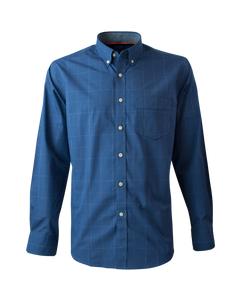 Camisa Trevira Cuello Semi Italiano Regular Fit