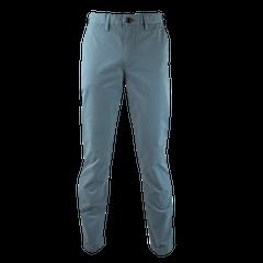 Pantalon Frente Plano Estampado Spandex Slim Fit