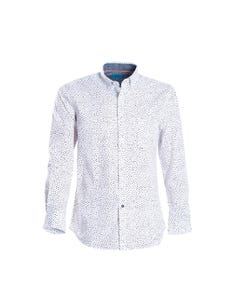 Camisa Estampada Casual Slim Fit