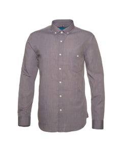 Camisa Denim Look Slim Fit