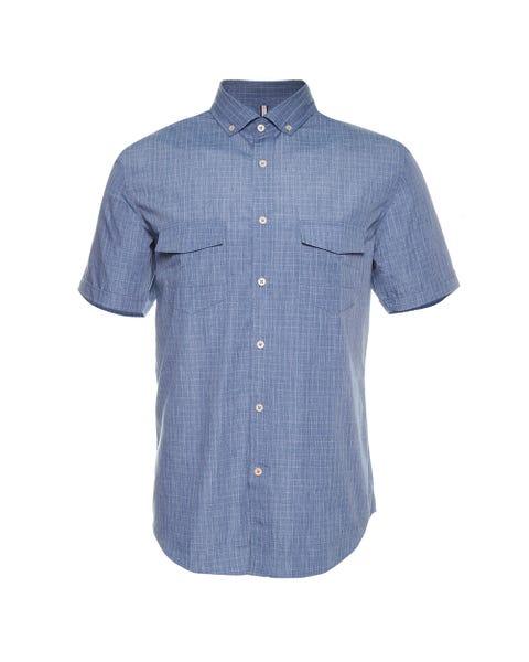 Camisa Denim Mc Slim Fit