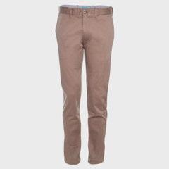 Pantalon Spandex Frente Plano Slim Fit